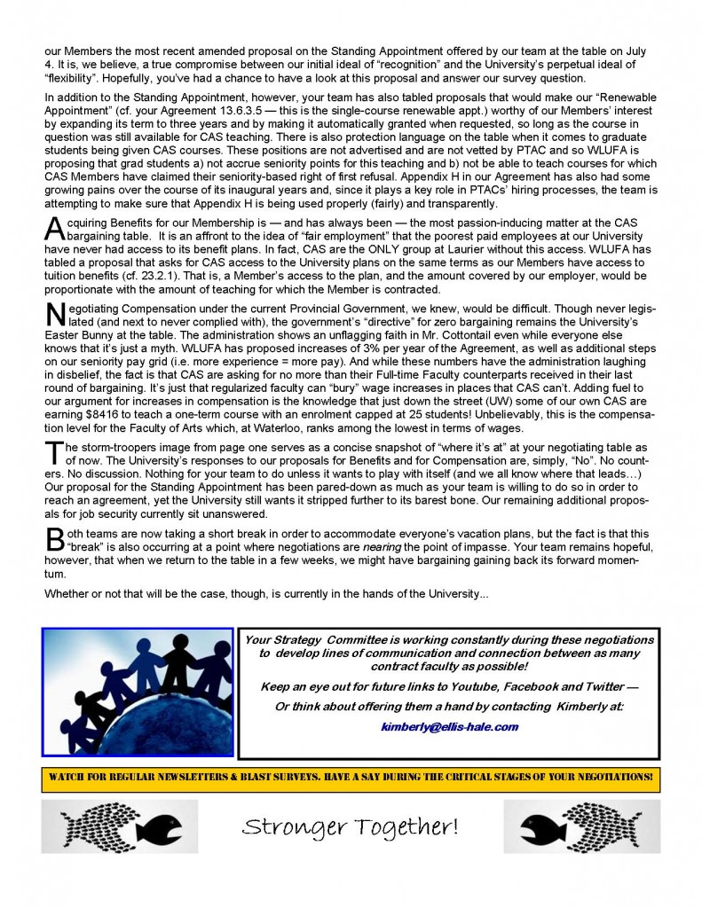 Negotiations Newsletter 2 page 2