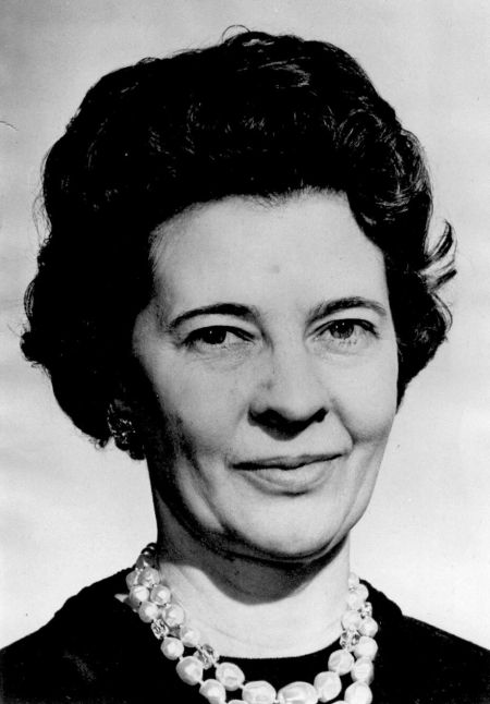 Margaret Evans Term of Presidency: 1962-1963