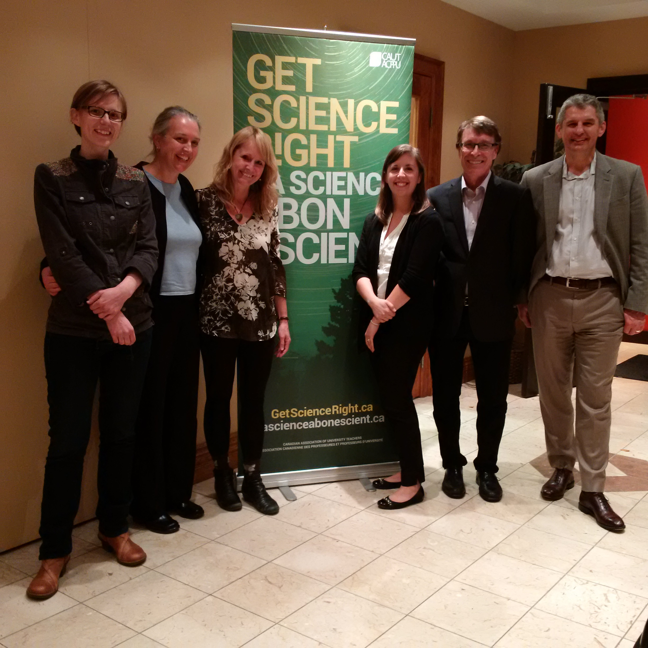 Getting Science Right in Waterloo, Oct 1-2015
