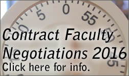 Contract Faculty Negotiations 2016 info.