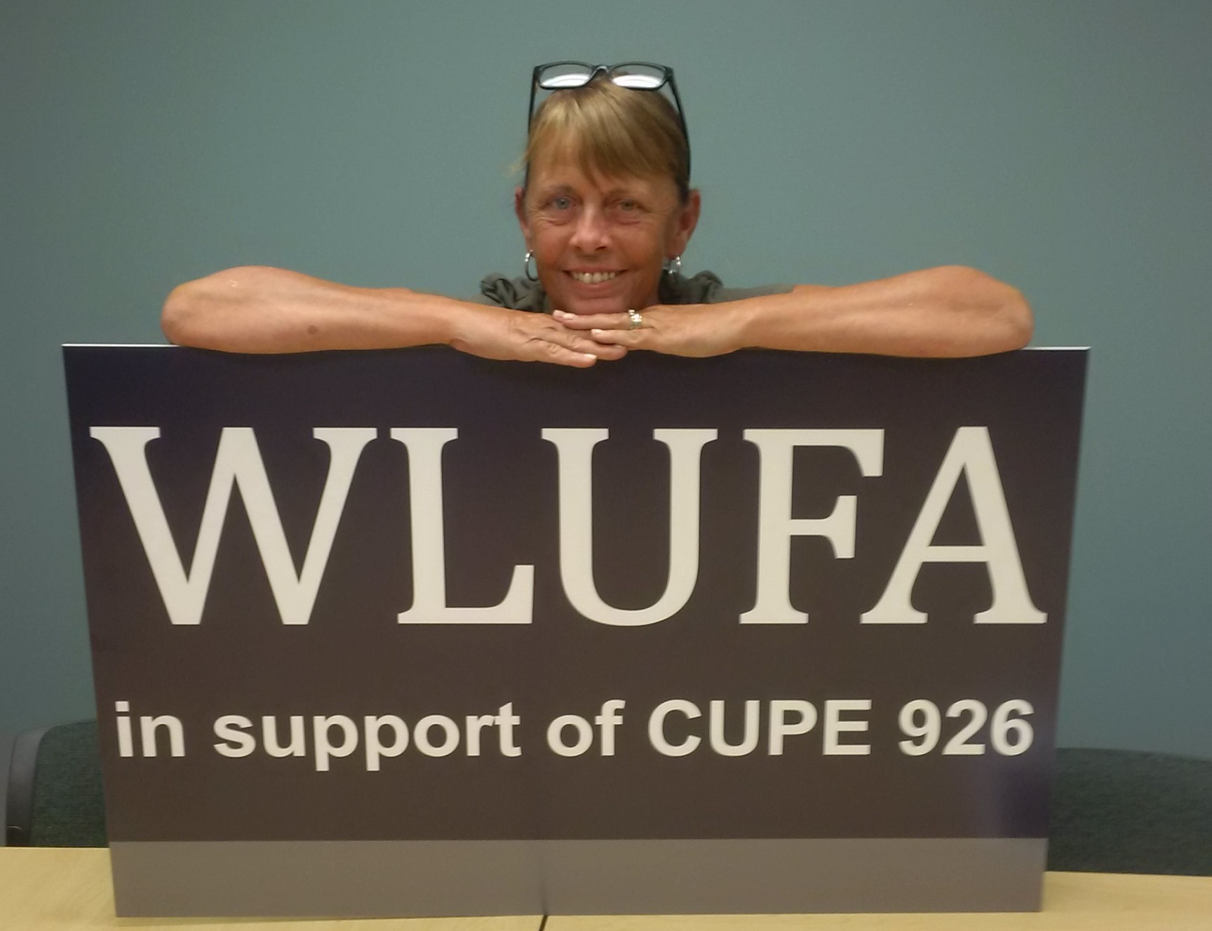 WLUFA in support of CUPE 926