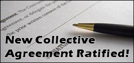 New Collective Agreement Ratified