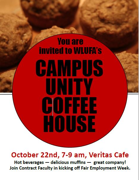 REMINDER: Campus Unity Coffee House this Monday!